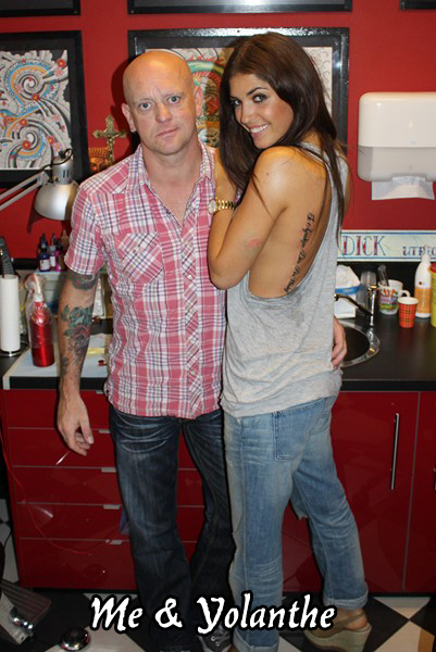 Tattoo on Yolanthe by Dick de Wit - Magic Tattoo Studio